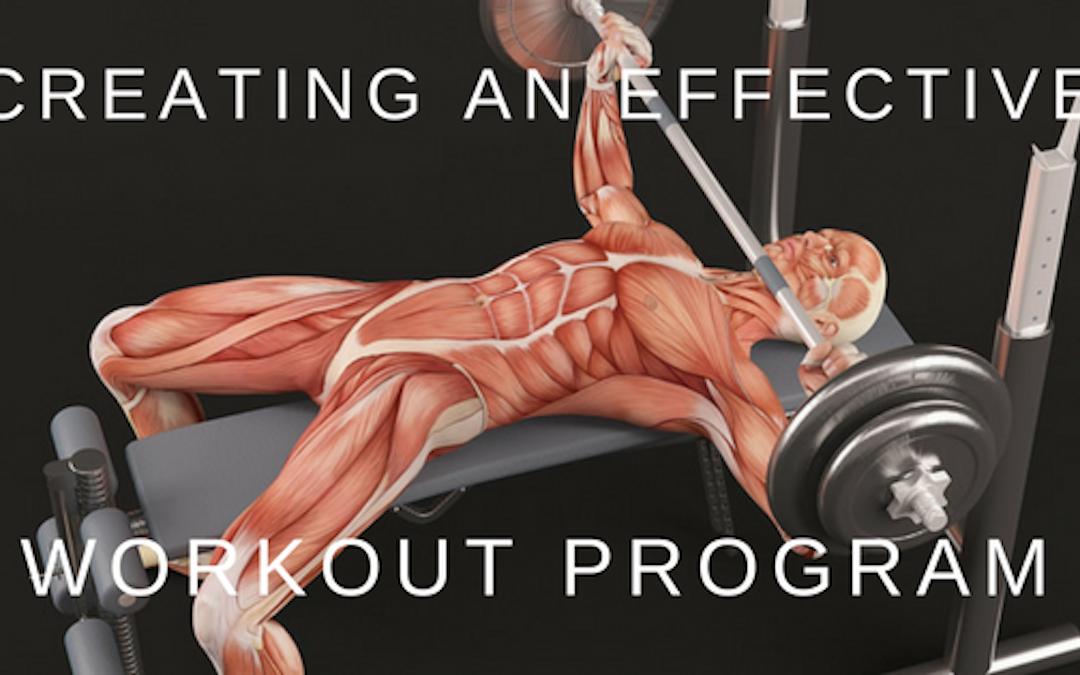Effective workout bench press